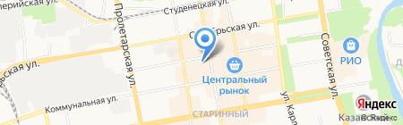 Магазин подарков на карте Тамбова