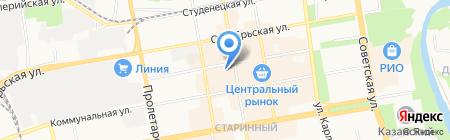 Магазин одежды на карте Тамбова