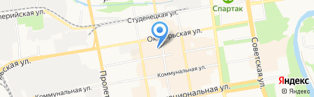 Магазин инструментов на ул. Коммунальная на карте Тамбова