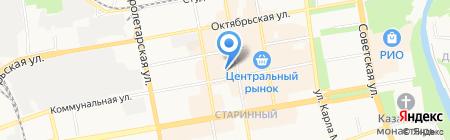 Магазин конфет на карте Тамбова