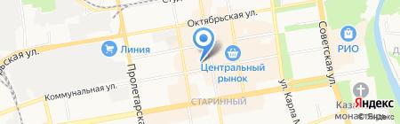 Магазин рыбной продукции на карте Тамбова
