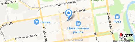 Магазин дисков на карте Тамбова