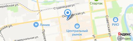 Магазин автозвука на карте Тамбова