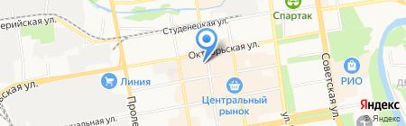 Магазин ковров на карте Тамбова