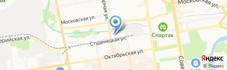 Фон на карте Тамбова