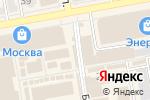 Схема проезда до компании Мастерская в Тамбове