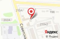 Схема проезда до компании Релакс в Красненькой