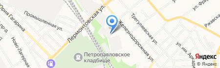 Отряд полиции особого назначения на карте Тамбова
