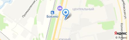 Продуктовый магазин на ул. Южный микрорайон на карте Строителя