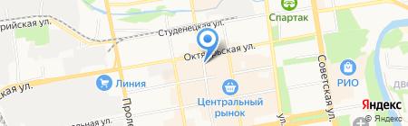 Орбита на карте Тамбова