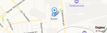 Уникум на карте Тамбова
