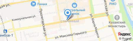 Роспечать на карте Тамбова