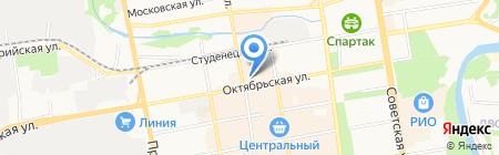 Тамбов-недвижимость на карте Тамбова