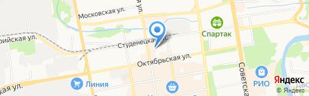 Стройцентр-К1 на карте Тамбова