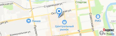 СитиС на карте Тамбова