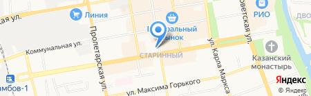 Банкомат Центрально-Черноземный банк Сбербанка России на карте Тамбова