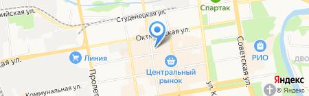 Вега на карте Тамбова