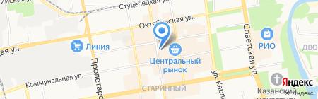 Лавка сухофруктов на карте Тамбова