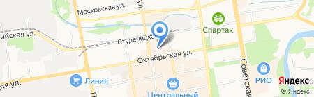 Центр занятости населения №1 на карте Тамбова
