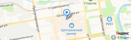 Шелковые штучки на карте Тамбова