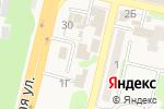 Схема проезда до компании Столовая №1 в Строителе