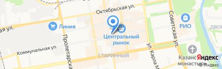 Палитра на карте Тамбова