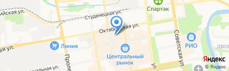 Магазин карнизов и жалюзи на карте Тамбова