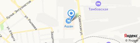 Хоровод на карте Тамбова
