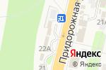 Схема проезда до компании АвтоПланета в Строителе