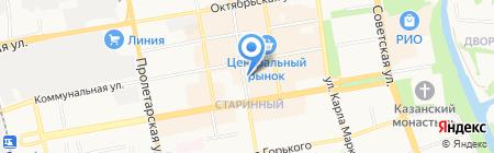Отделение почтовой связи №33 на карте Тамбова