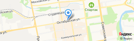 Тамбовчанка на карте Тамбова