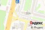 Схема проезда до компании Русские деньги в Строителе