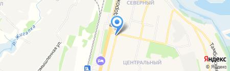 Маргарита на карте Строителя