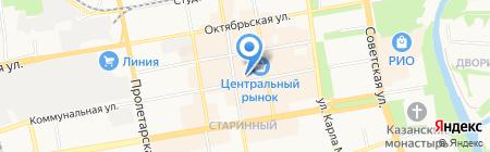 Veka на карте Тамбова