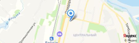 Тамбовская кега на карте Строителя