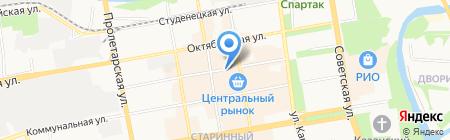 Магазин рыбы и морепродуктов на Коммунальной на карте Тамбова