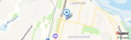 Мираторг на карте Строителя