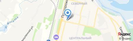 Киоск по ремонту обуви на карте Строителя