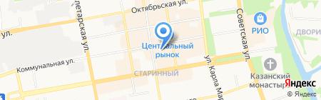 Профи на карте Тамбова