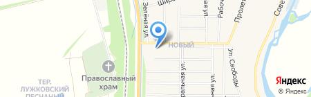 АЗС ТНК-Рязань на карте Бокино