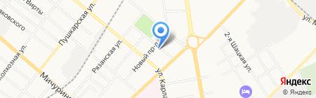 Врачебно-физкультурный диспансер на карте Тамбова
