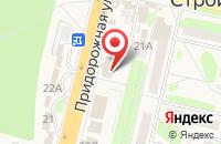 Схема проезда до компании Центрально-Черноземный банк Сбербанка России в Строителе