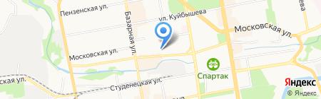 Третья Тамбовская областная коллегия адвокатов на карте Тамбова