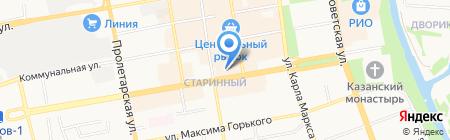 Регион-Сервис на карте Тамбова