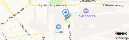 Мировые судьи Советского района на карте Тамбова