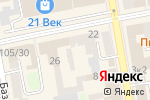 Схема проезда до компании Адвокатский кабинет Крыловского М.В в Тамбове