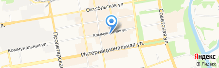Чароит на карте Тамбова