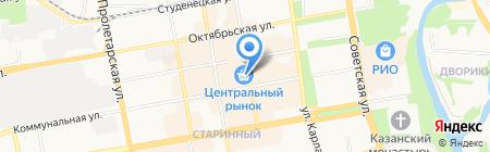 АРЕНА-ИНДОР на карте Тамбова