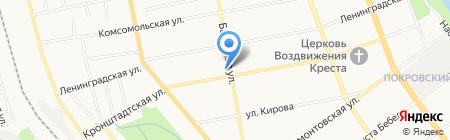 Средняя общеобразовательная школа №9 на карте Тамбова