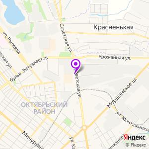 ЛДЦ МИБС Тамбов на карте